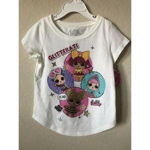 LOL Surprise Glitterati Short Sleeve T Shirt Top